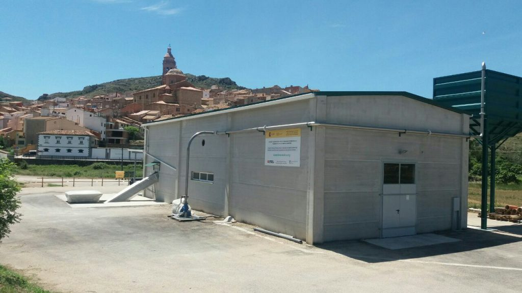Imagen de la Almazara 4's de Oliete (Teruel)