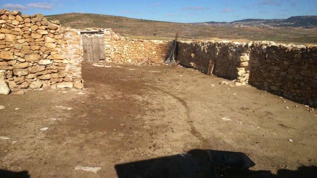 estiércol de oveja Apadrinaunolivo.org