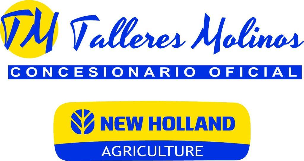 Imagen de los logos de Talleres Molinos y New Holland