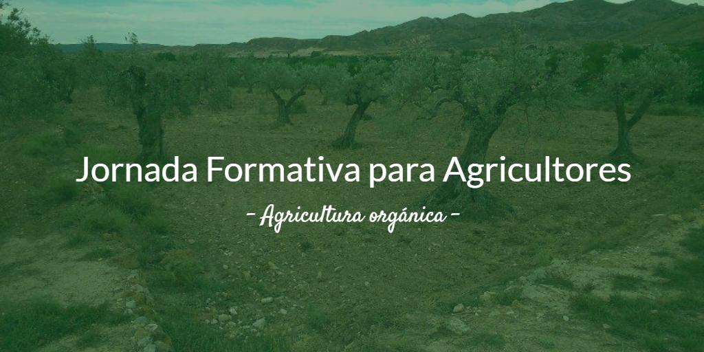 Imagen destacada de la 2ª Jornada Formación Agricultores