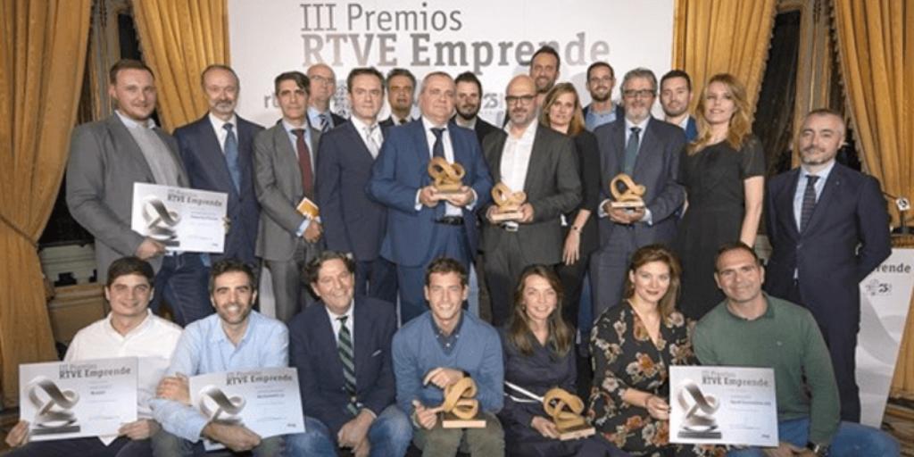 Imagen de los Premios RTVE Emprende