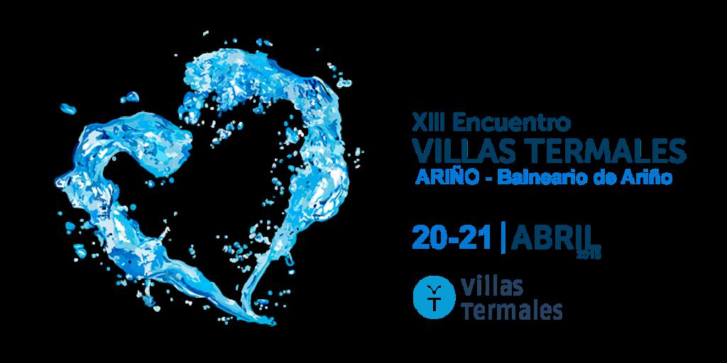 Imagen del logo del XIII Encuentro Villas Termales