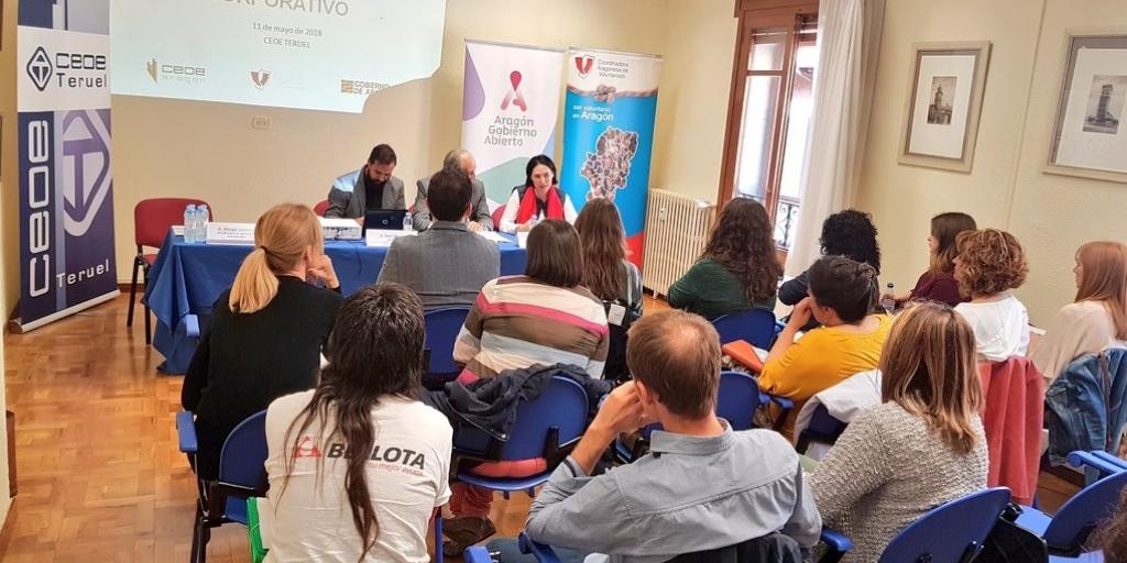 Imagen jornada de Voluntariado Corporativo Teruel