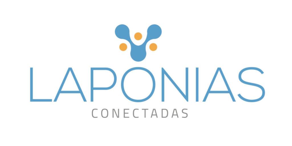 Imagen del logo de 'Laponias conectadas'