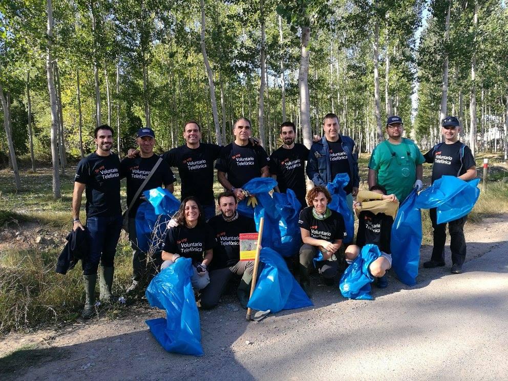 Imagen del Voluntariado Telefónica 2017