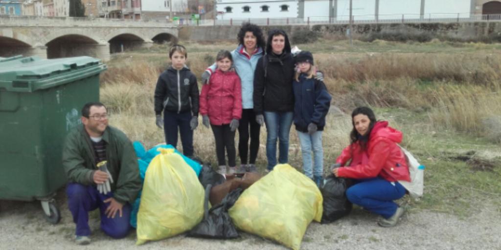 Imagen del grupo de voluntariado '1m2 por los ríos, embalses y pantanos'
