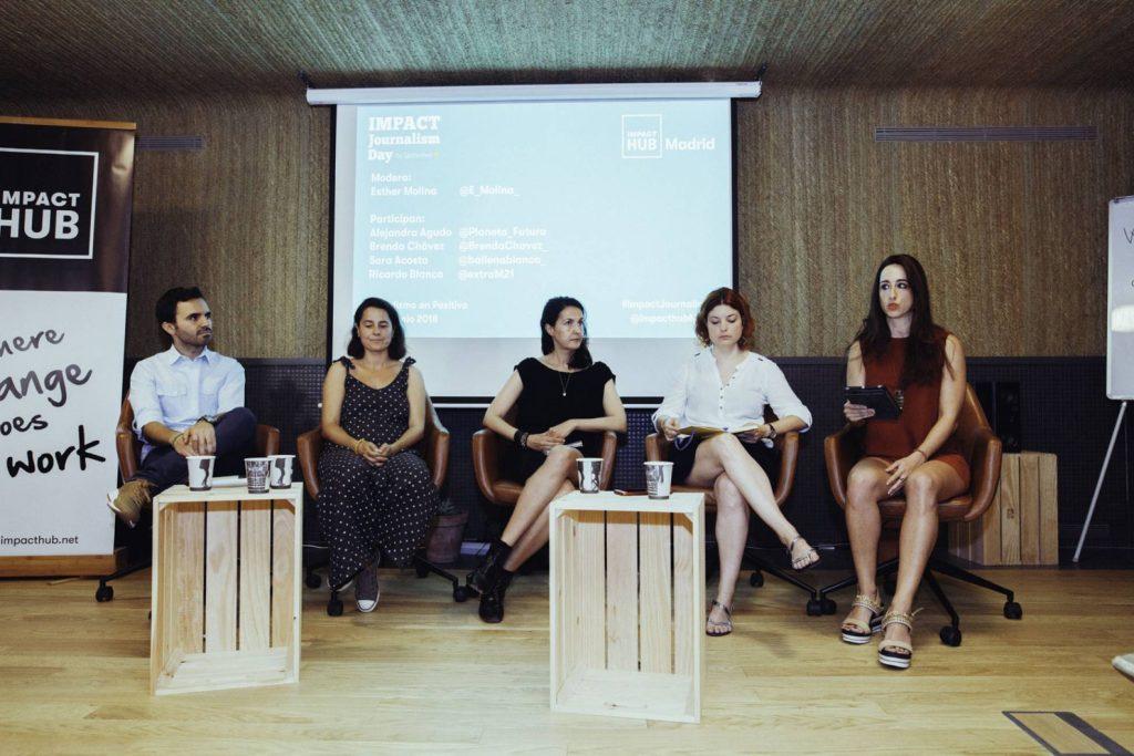 Mesa redonda del debate de Periodismo en positivo