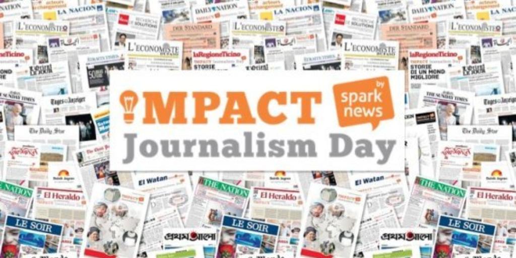 Imagen destacada del Impact Journalism Day