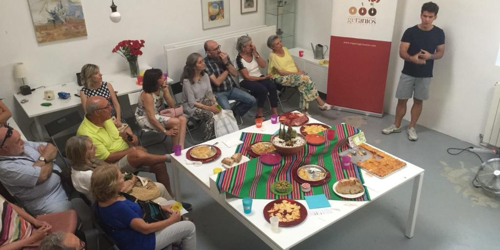 Imagen destacada de la Cata Social. Fiesta pre-verano en Espacio Geranios