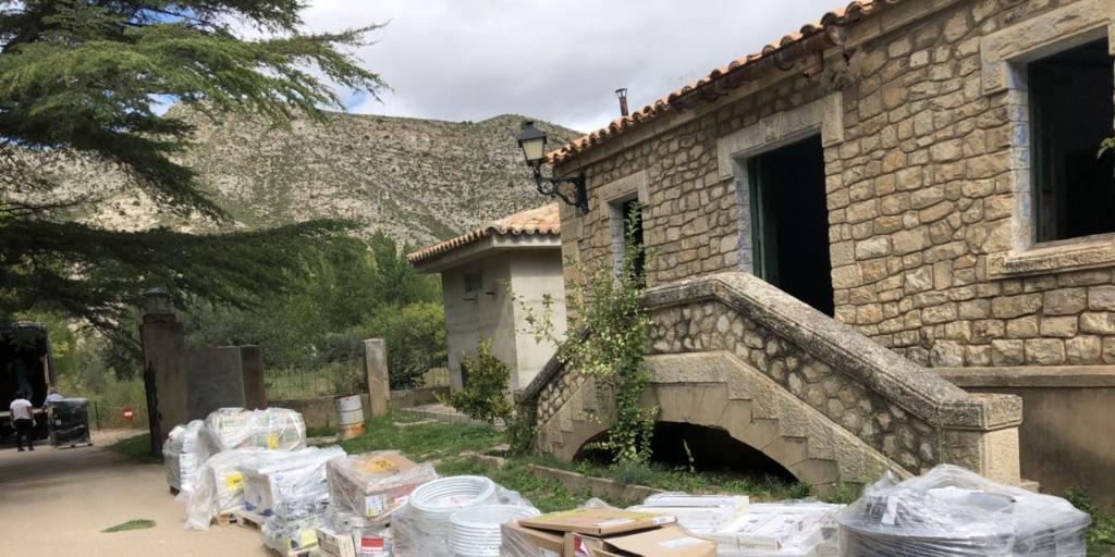 Cesión de las viviendas del embalse de Cueva Foradada