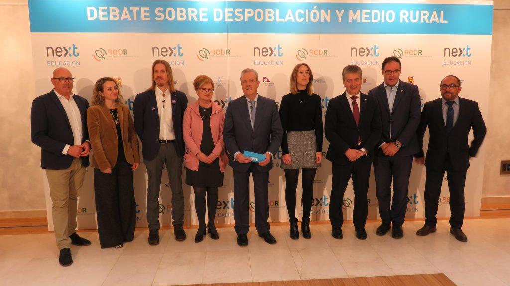 """Debate sobre la """"Despoblación, Reto Demográfico y Medio Rural"""" partidos políticos"""