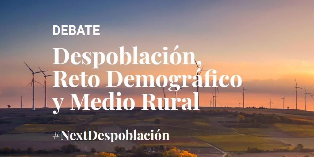 """Debate sobre la """"Despoblación, Reto Demográfico y Medio Rural"""""""
