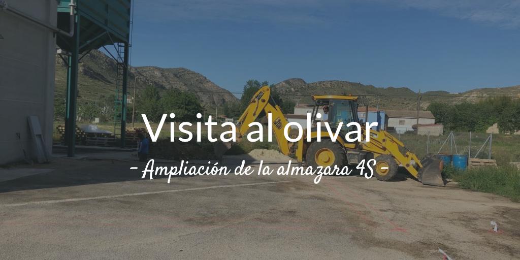 3ª Visita al olivar 2019. Ampliación de la almazara