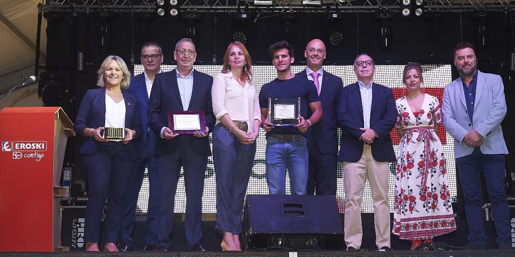 Imagen del artículo Eroski nos premia como el producto Aragonés más innovador del año.